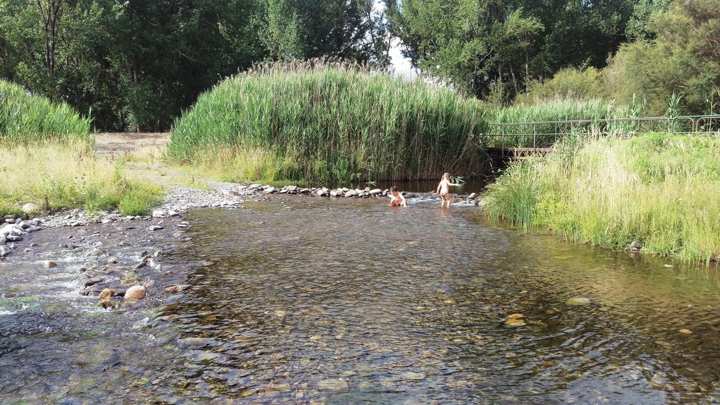 Refreshing Khancoban Creek