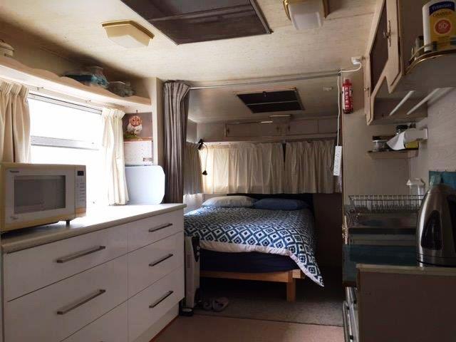 Kitchen / Bed
