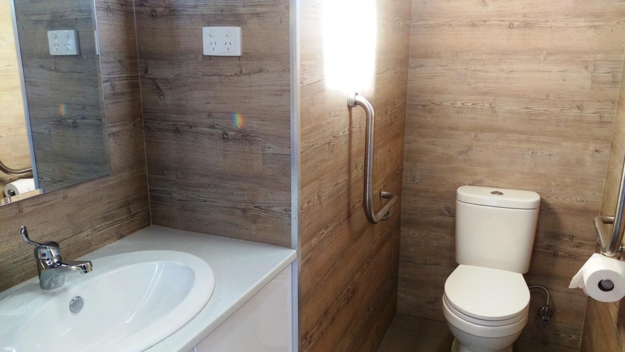 Khancoban caravan park ambulant toilet