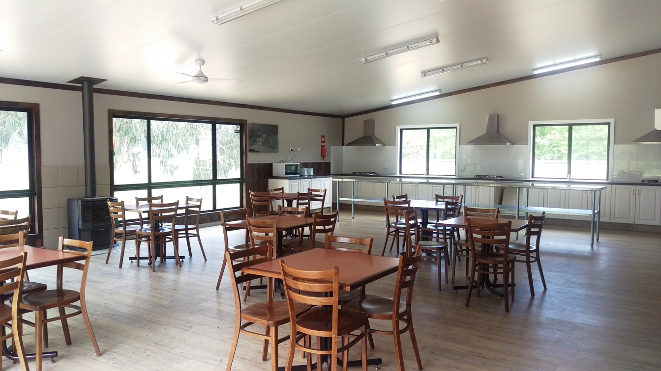 inside kitchen